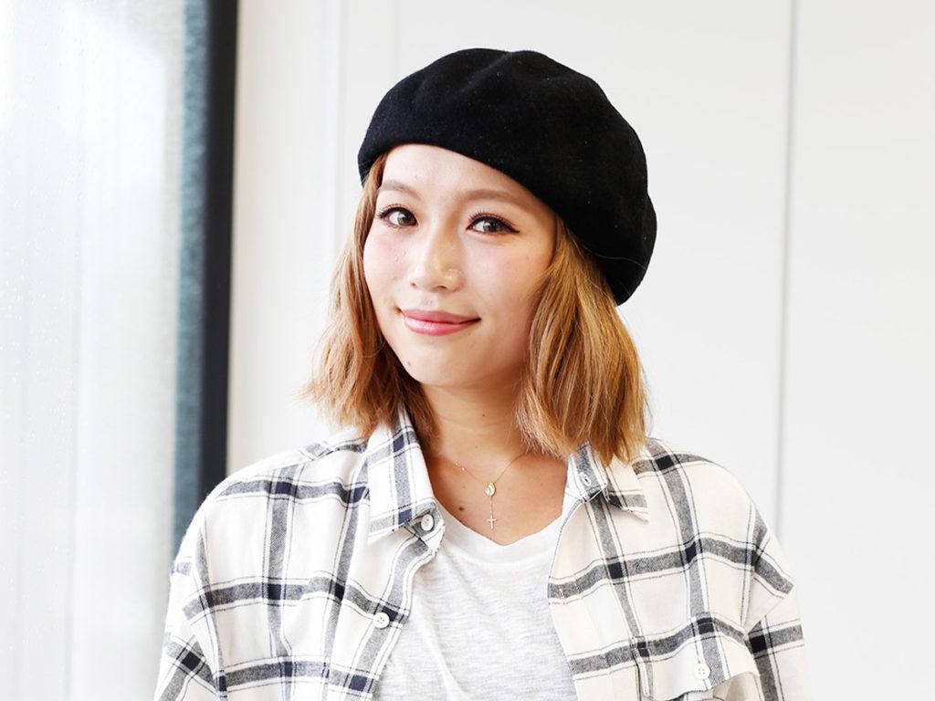鎌田 安里紗さん モデル