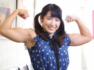 才木 玲佳さん 筋肉アイドル