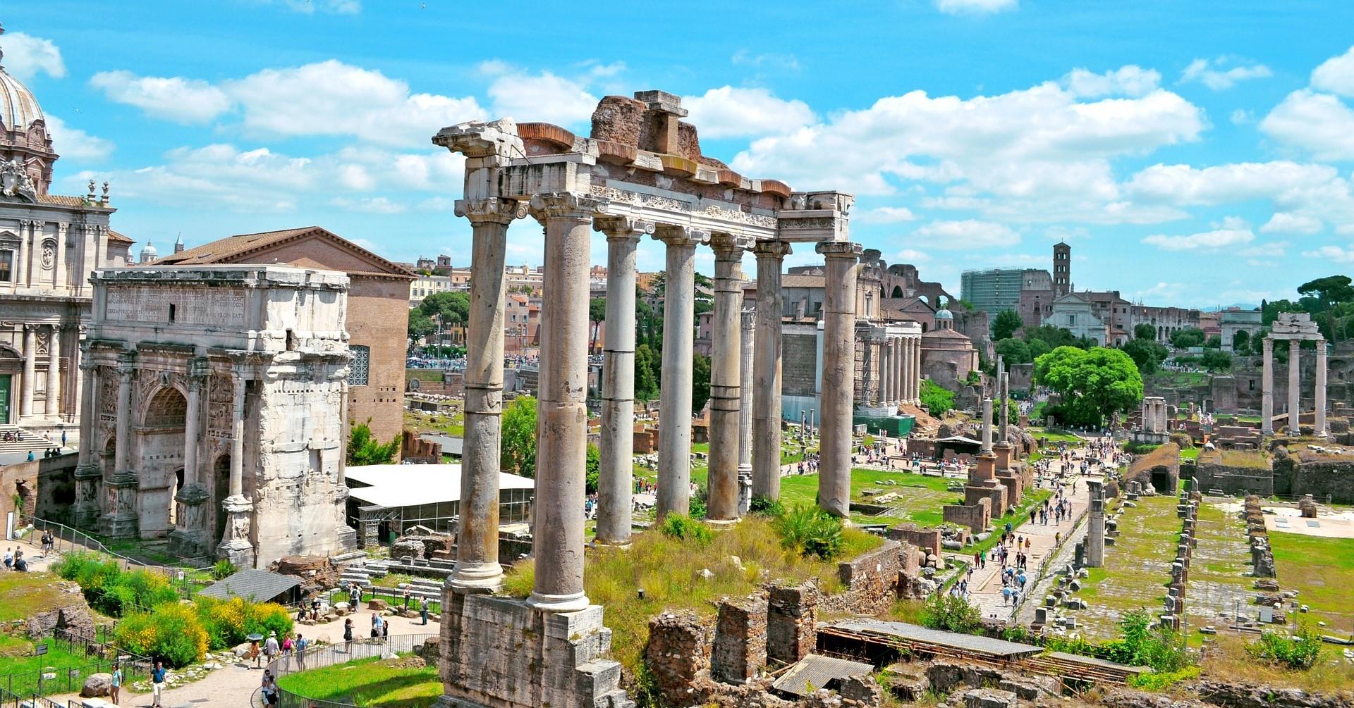 2020年3月『ローマの歴史地区と教皇領』