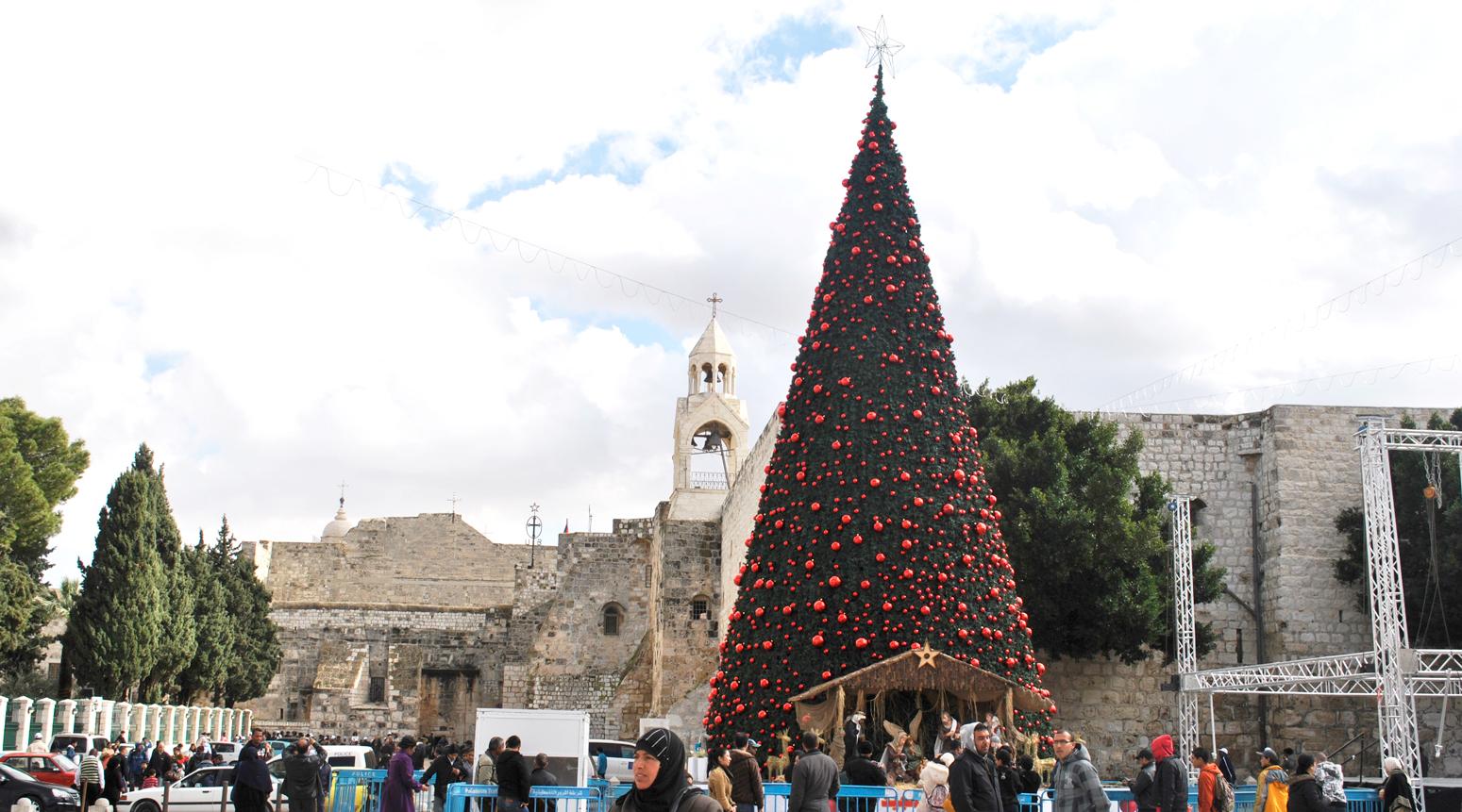 2019年12月 今月の世界遺産『イエス生誕の地:ベツレヘムの聖誕教会と巡礼路』