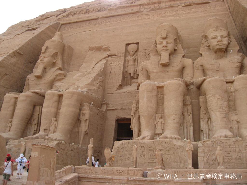 古代エジプト文明の大神殿、ヌビアの遺跡群と世界遺産