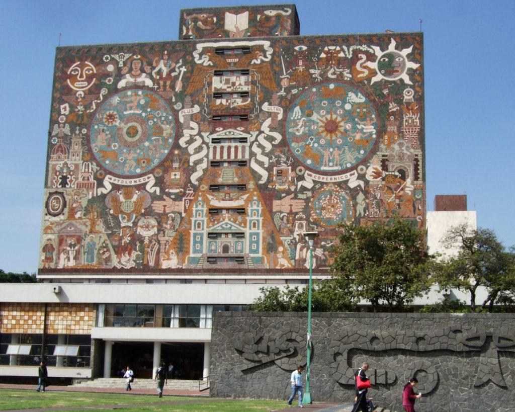 『メキシコ国立自治大学(UNAM)の中央大学都市キャンパス』(メキシコ合衆国)