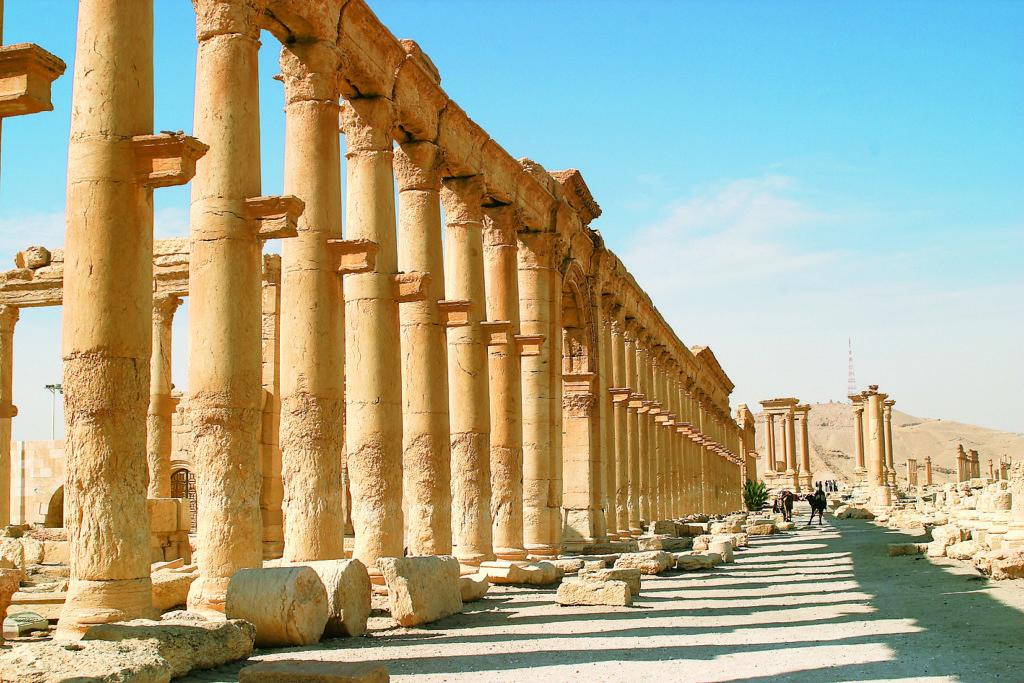 『古代都市パルミラ』(シリア・アラブ共和国)
