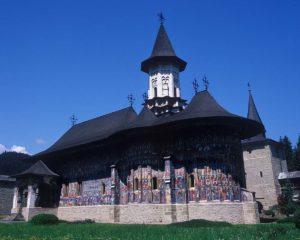 『スチェヴィツァ修道院の復活聖堂』(ルーマニア)