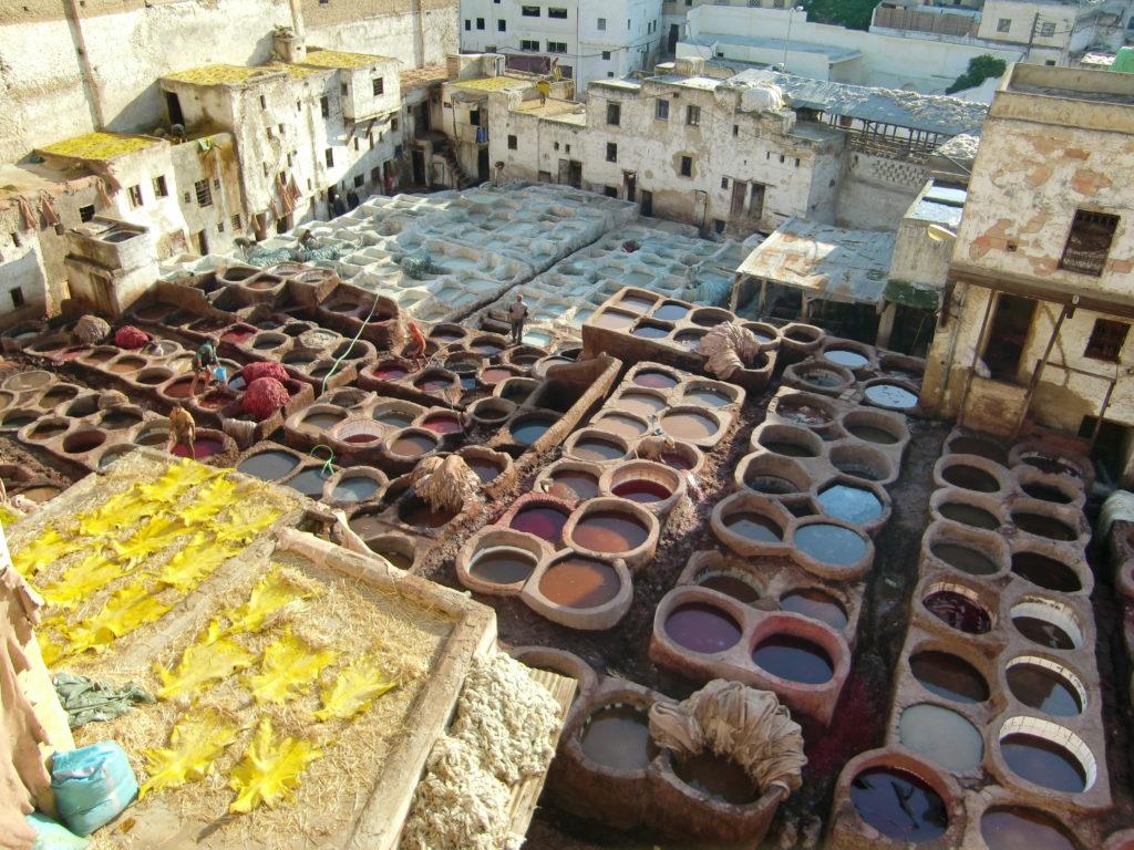 『フェズの旧市街』(モロッコ王国)