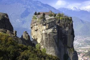 『メテオラの修道院群』(ギリシャ共和国)