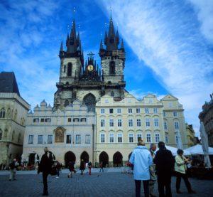 『プラハの歴史地区』(チェコ共和国)