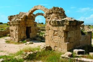 『パフォスの考古遺跡』(キプロス共和国)