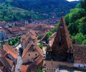 シギショアラの歴史地区(ルーマニア)