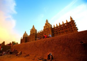 『ジェンネの旧市街』(マリ共和国)