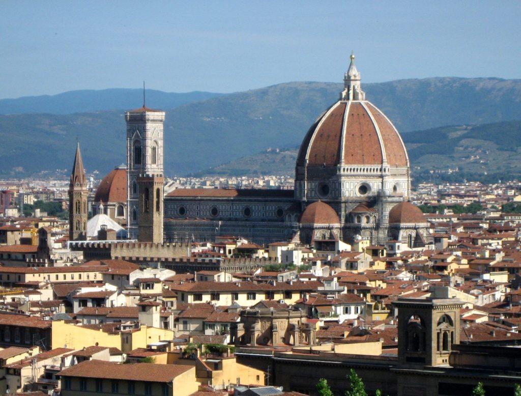 フィレンツェの歴史地区(イタリア共和国)文化遺産