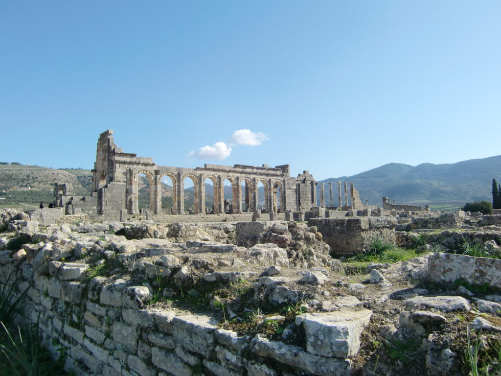 『ヴォルビリスの考古遺跡』(モロッコ王国)