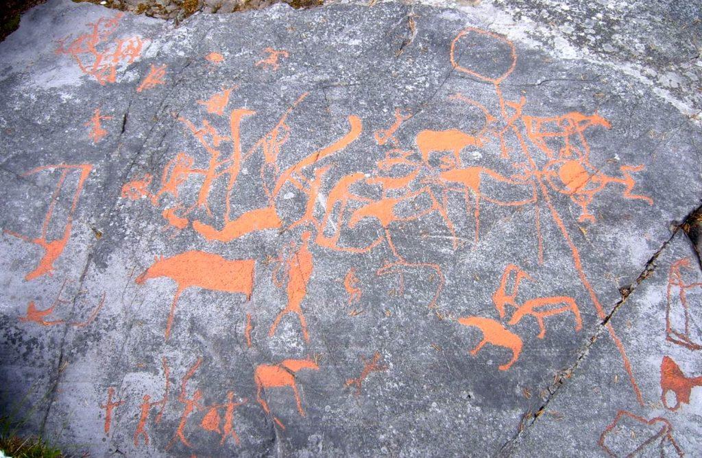 『アルタの岩絵群』(ノルウェー王国)