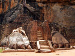 『シーギリヤの古代都市』(スリランカ民主社会主義共和国)