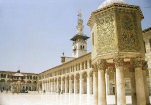 ダマスカスの旧市街(シリア・アラブ共和国)