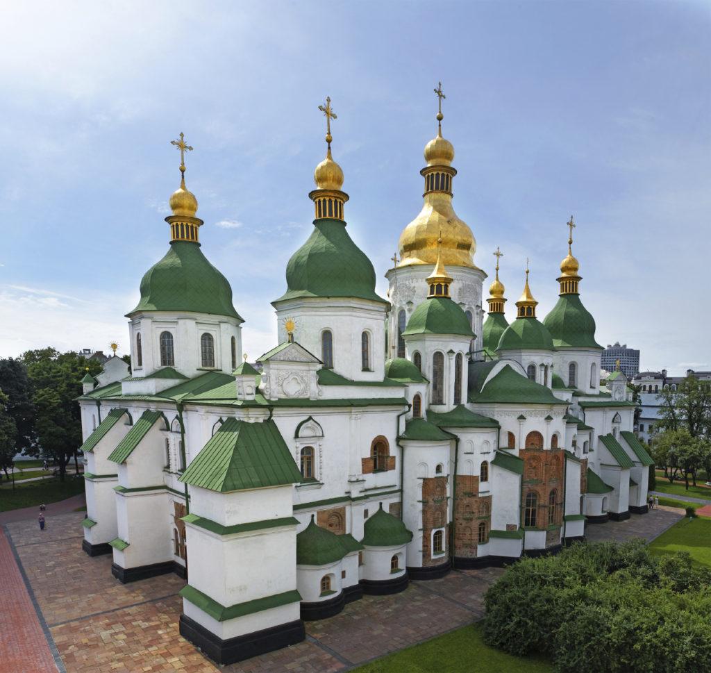 キエフ:聖ソフィア聖堂と関連修道院群、キエフ・ペチェルスカヤ大修道院(ウクライナ)