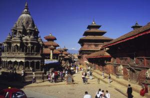 『カトマンズの谷』(ネパール連邦民主共和国)