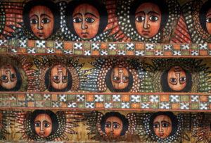 『デブレ ベルハン セラシエ教会』 エチオピア