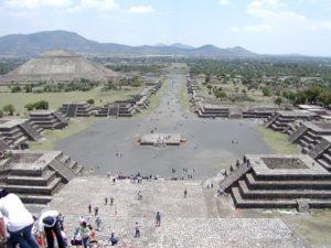 テオティワカンの古代都市(メキシコ合衆国)