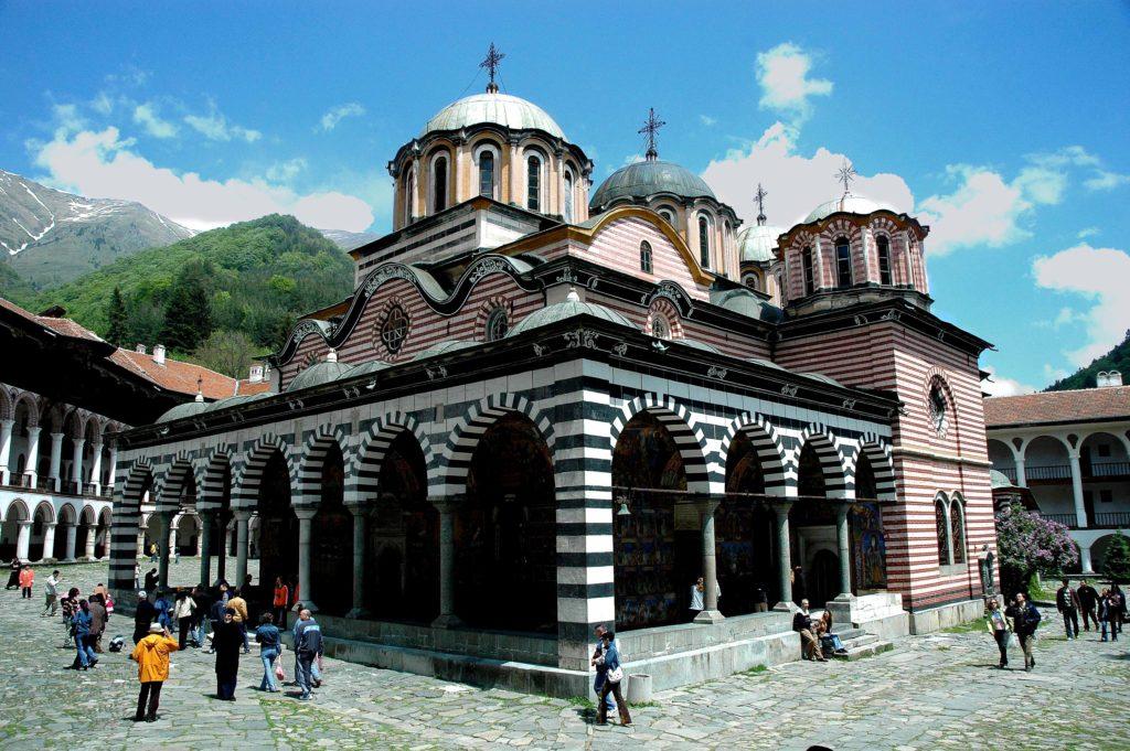 リラの修道院(ブルガリア共和国)