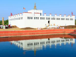 仏陀の生誕地ルンビニー(ネパール連邦民主共和国)