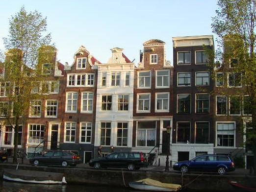 ジンフェルグラハト内部の17世紀の環状運河地区(オランダ王国)