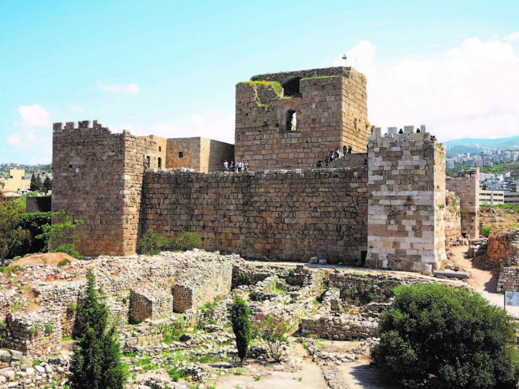 フェニキア都市ビブロス(レバノン共和国)