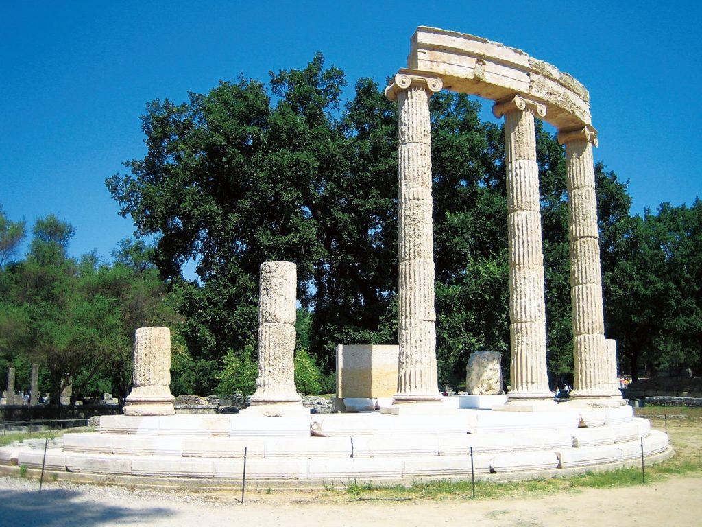 オリンピアの考古遺跡(ギリシャ共和国)