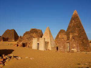 メロエ島の考古遺跡(スーダン共和国)