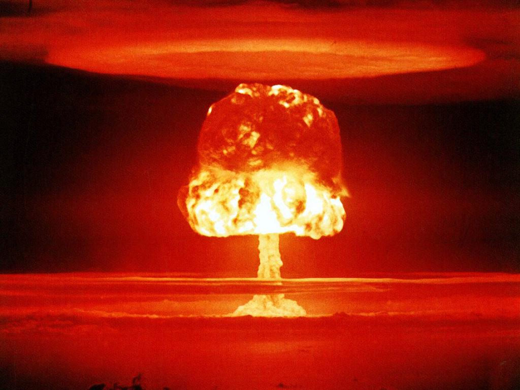 ビキニ環礁-核実験場となった海(マーシャル諸島共和国)