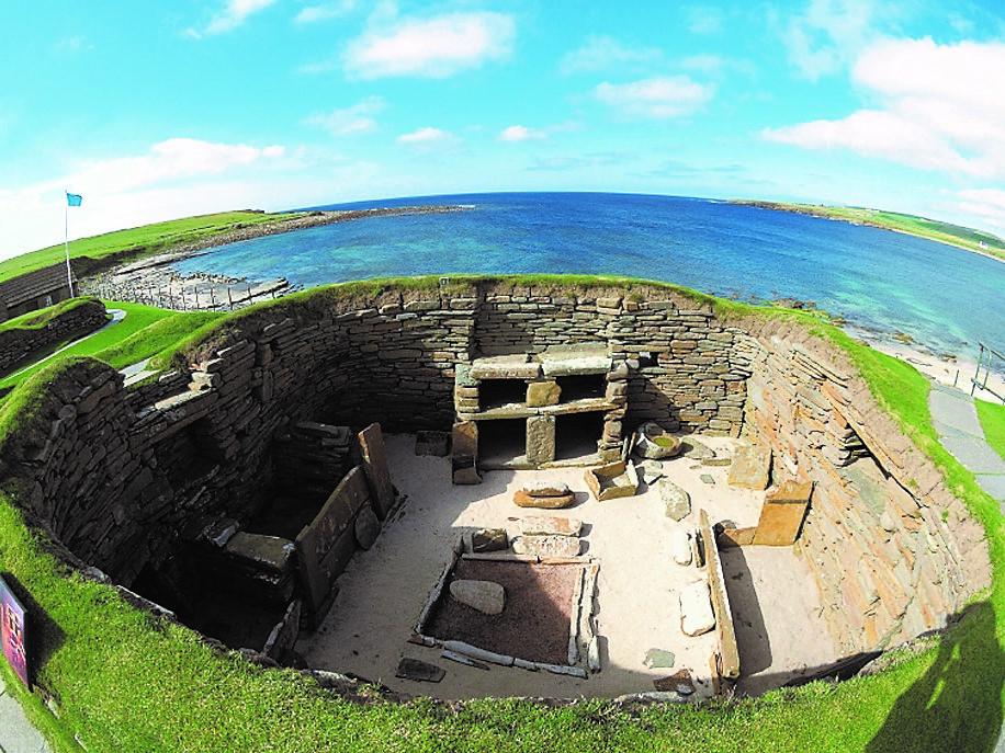 オークニー諸島の新石器時代遺跡(英国)