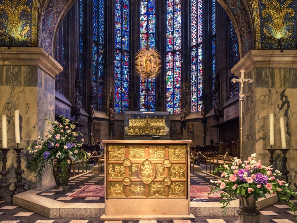 アーヘンの大聖堂(ドイツ連邦共和国)