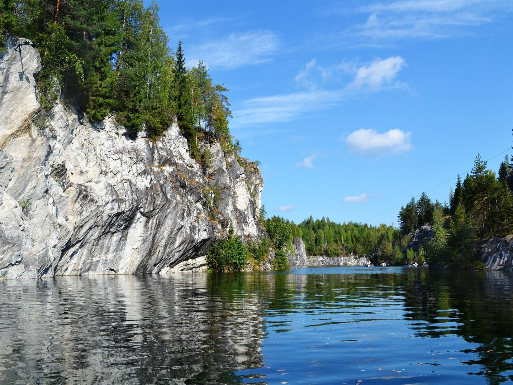 レナ石柱自然公園(ロシア連邦)