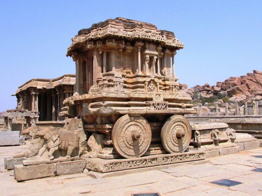 ハンピの都市遺跡(インド)