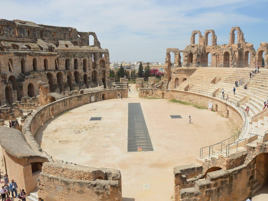 エル・ジェムの円形闘技場(チュニジア共和国)