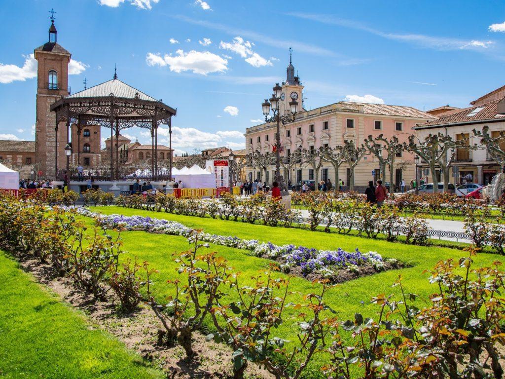 アルカラ・デ・エナレスの大学と歴史地区(スペイン)
